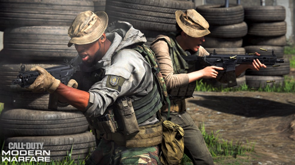 Call of Duty Modern Warfare traz modo com confronto entre duplas — Foto: Divulgação/Activision