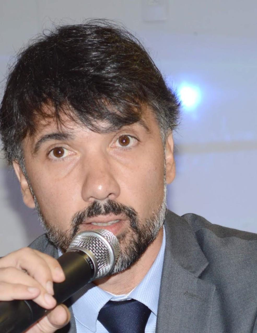 O delegado Rodrigo Morais, responsável pelas investigações sobre a participação de Adélio no atentado. — Foto: Divulgação