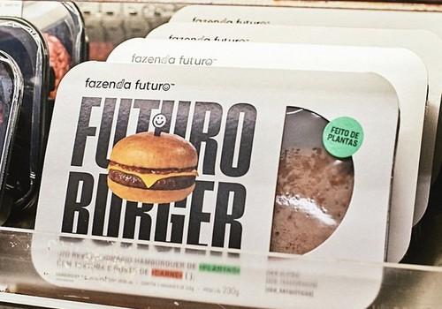 fazenda-futuro-hamburguer-vegetal (Foto: Reprodução Instagram/Fazenda Futuro)