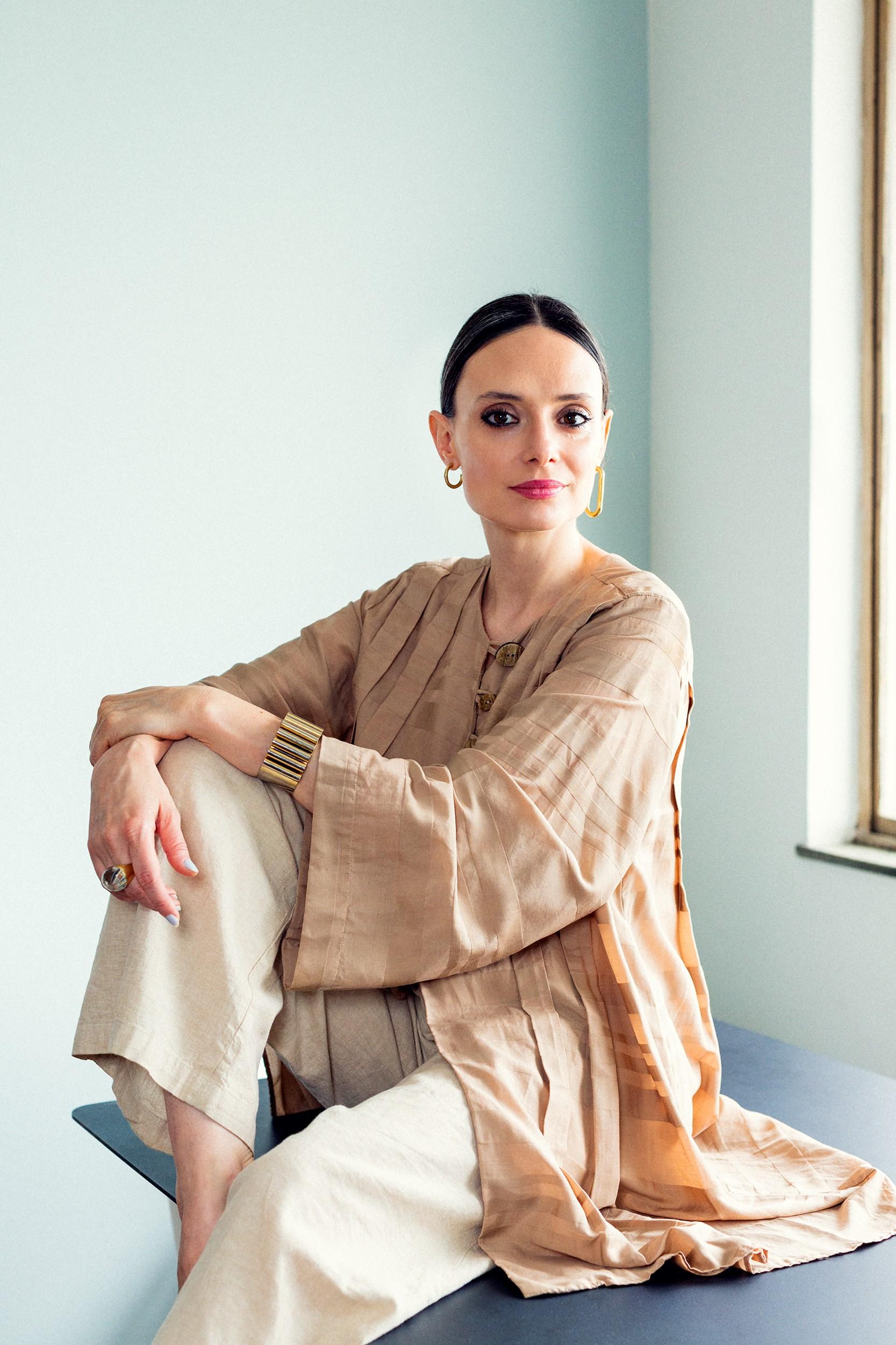 A ex-editora de beleza da Marie Claire, Vânia Goy, é a nova embaixadora da Sisley Paris Brasil (Foto: Alex Batista)
