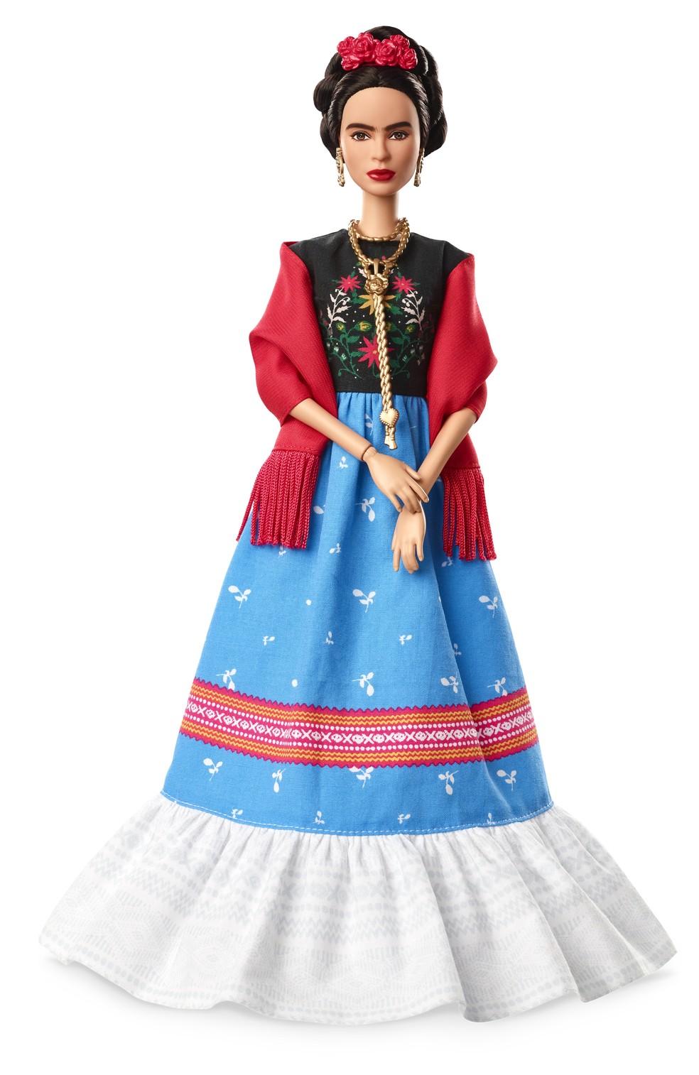 Barbie inspirada em Frida Khalo será vendida no Brasil a partir de 8 de março (Foto: Divulgação)