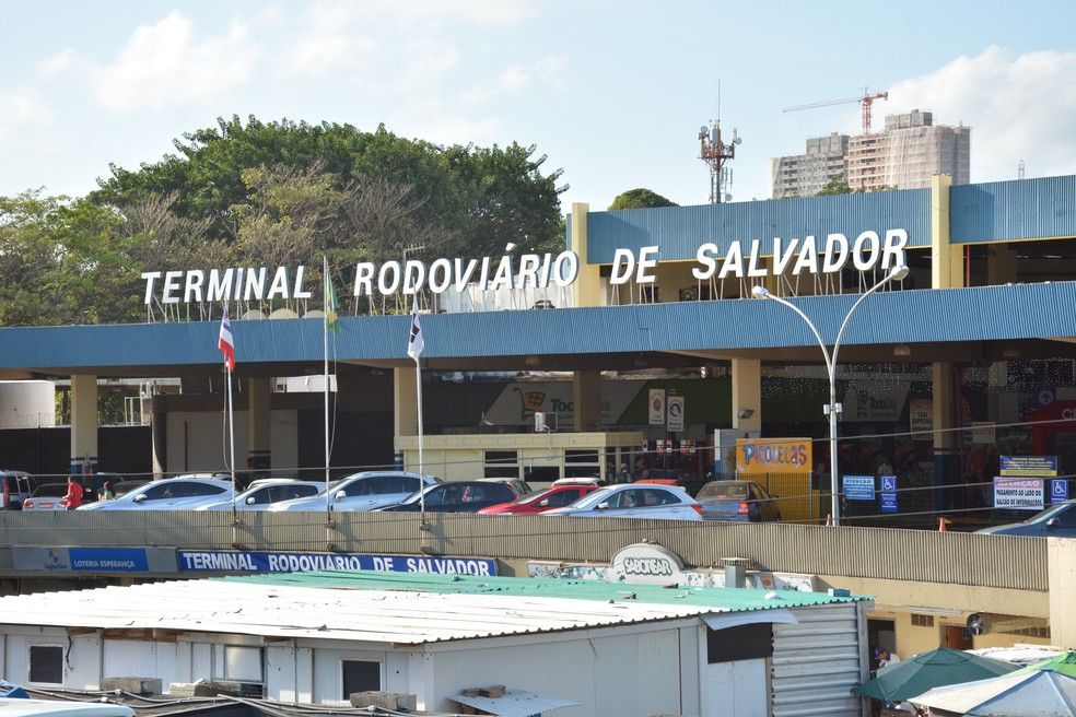 Rodoviária de Salvador — Foto: Ulgo Oliveira/Seinfra