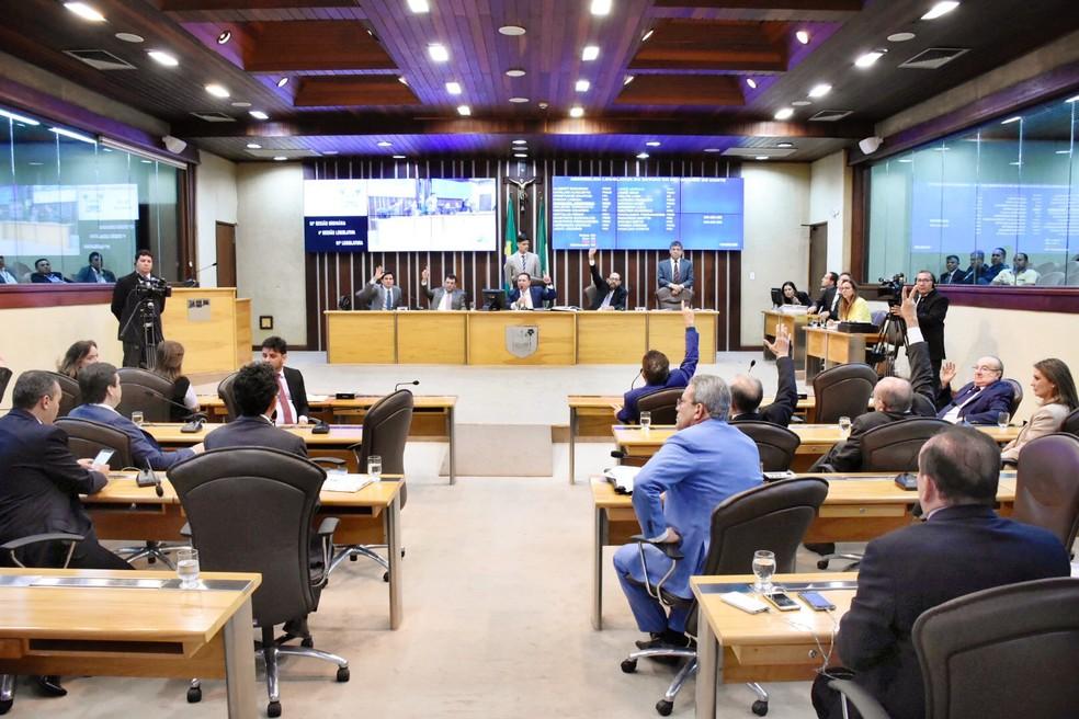 Deputados do RN aprovaram LDO em sessão nesta terça-feira (17) (Foto: João Gilberto/Ascom AL)