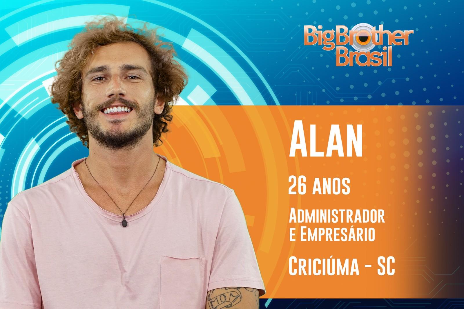 Alan Barbosa, BBB19 — Foto: Divulgação