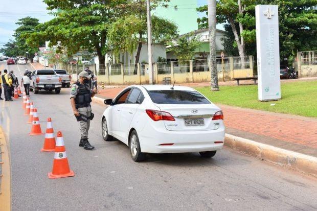 Rio Branco tem maior índice de isolamento social do último mês no dia em que adotou rodízio de veículos