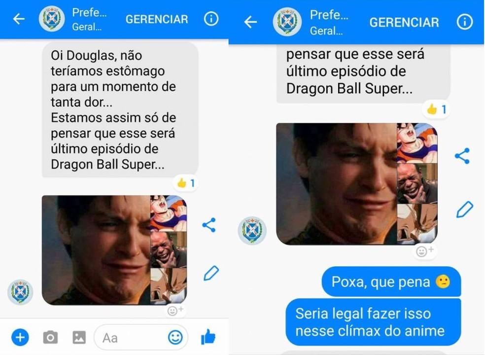 Em segunda resposta, prefeitura diz que se desespera por último episódio da série (Foto: Reprodução/Facebook/Douglas Pollo)