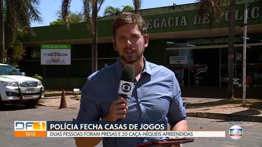 Polícia Civil fecha duas casas de jogos clandestinos
