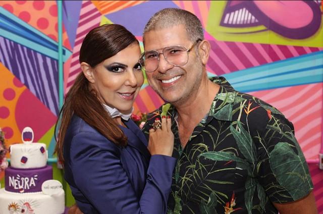 Claudia Lira e Cacau Hygino  (Foto: Leo Ornelas)
