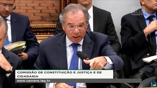 Paulo Guedes elogia Lula e o Bolsa Família durante audiência na Câmara