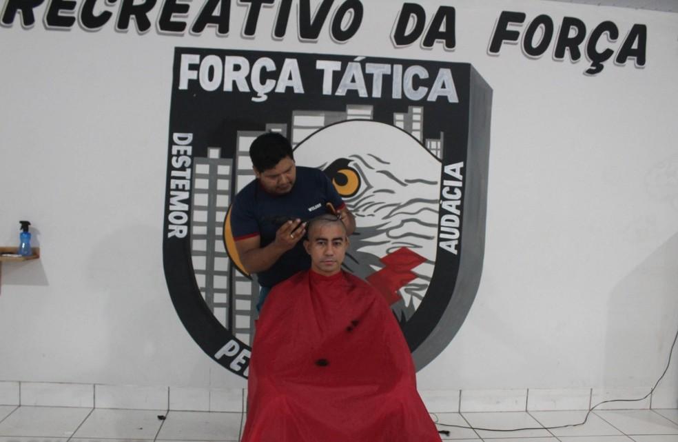 A ideia inicial foi do Pelotão Especializado de Força Tática/7º CR — Foto: Polícia Militar/Divulgação