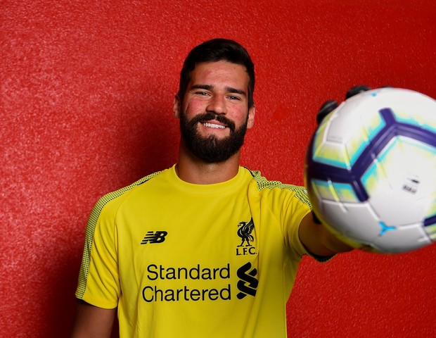Alisson Becker, novo goleiro do Liverpool (Foto: reprodução)