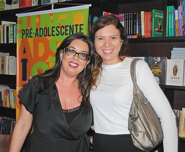 Daniela Tófoli com a editora-chefe da Crescer, Ana Paula Pontes (Foto: Divulgação)