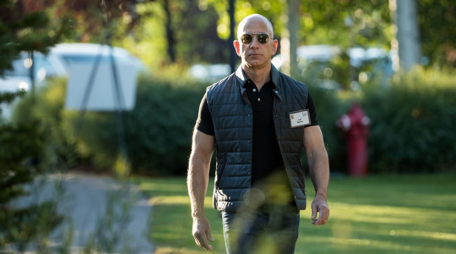 Jeff Bezos, da Amazon (Foto: Drew Angerer/Getty Images)