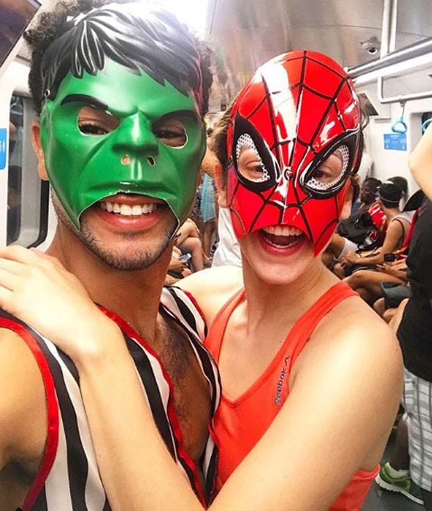 Sergio Malheiros e Sophia Abrahão (Foto: Reprodução Instagram)