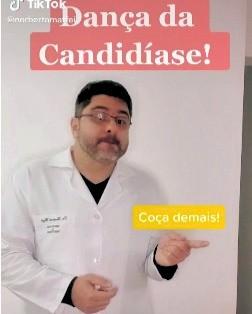 Ginecologista do Paraná faz sucesso na internet com 'Dança da Candidíase'