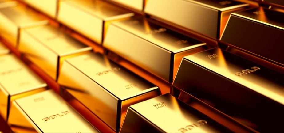 Preço do ouro se firma, apoiado pela queda do dólar