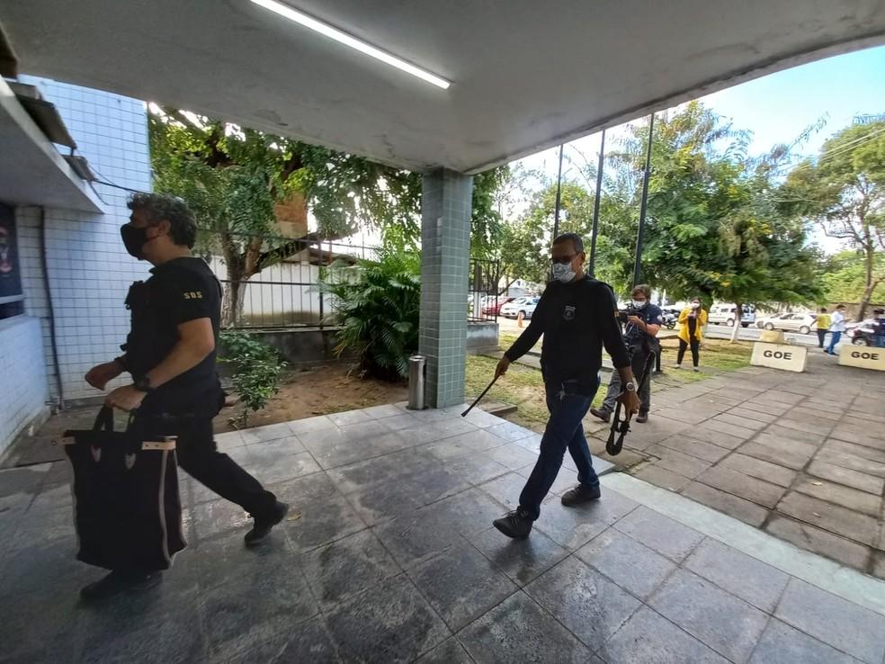Ao todo, 140 policiais civis em sete estados participaram da Operação Áquila — Foto: Polícia Civil/Divulgação