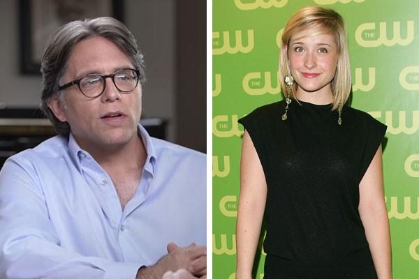 Keith Raniere e Allison Mack (Foto: Getty Images/Reprodução YouTube)
