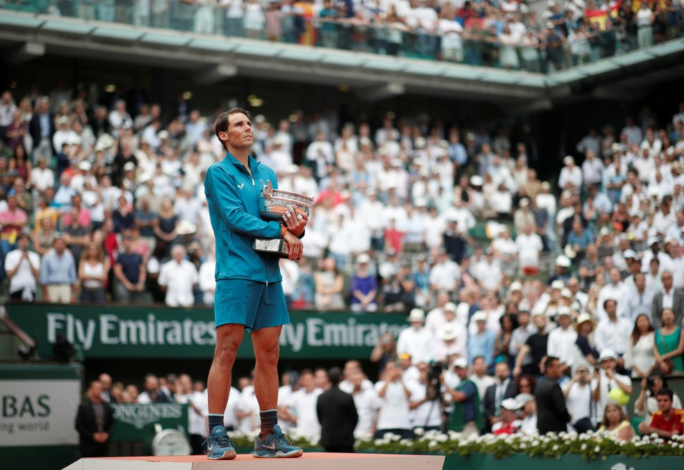 O tradicional torneio de Roland Garros começa no fim de maio — Foto: Reuters