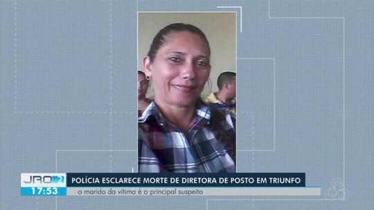 'Tinha medo de ser morta pelo marido', diz polícia sobre assassinato de diretora de posto de saúde, em RO