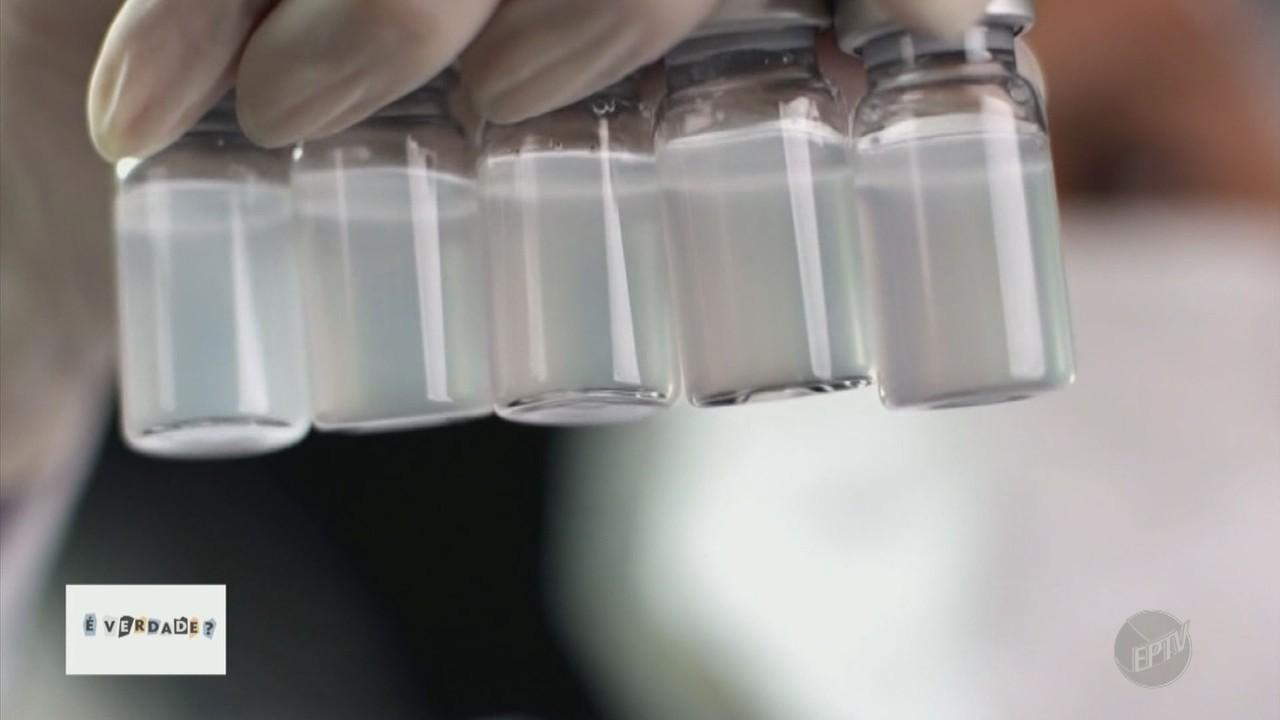 Médica explica que vacinas não possuem substâncias tóxicas