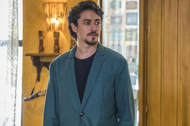 Jesuíta Barbosa é Jerônimo (Foto: TV Globo/Paulo Belote)