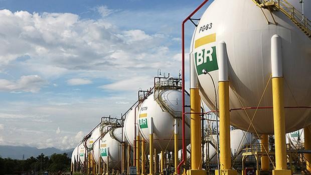 Produção de gás da Petrobras ; gás GLP ;  (Foto: Divulgação)