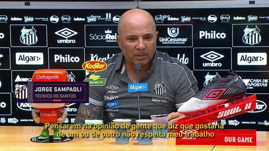 """No Seleção, comentaristas elogiam Everson e falam sobre """"sombra"""" de Vanderlei no Santos"""