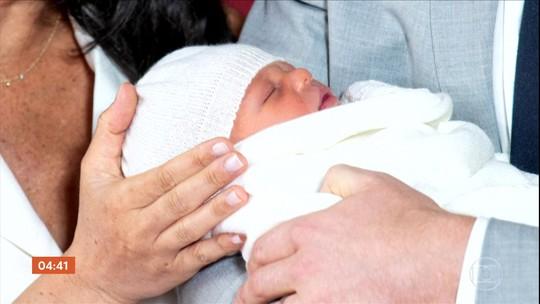 Anunciado o nome do bebê de Harry e Meghan: Archie Harrison