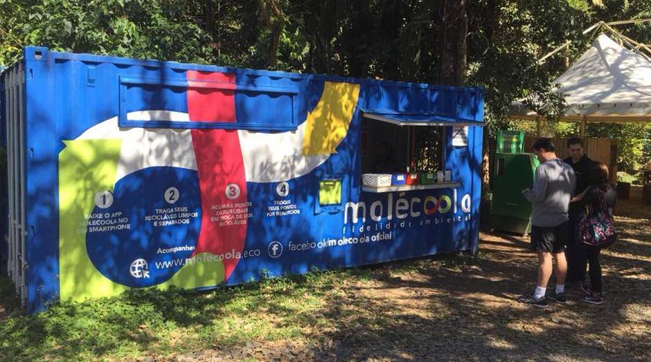 Na Molécoola o lixo gera recompensas e pode ser trocado por benefícios (Foto: Reprodução/Facebook/Molécoola)