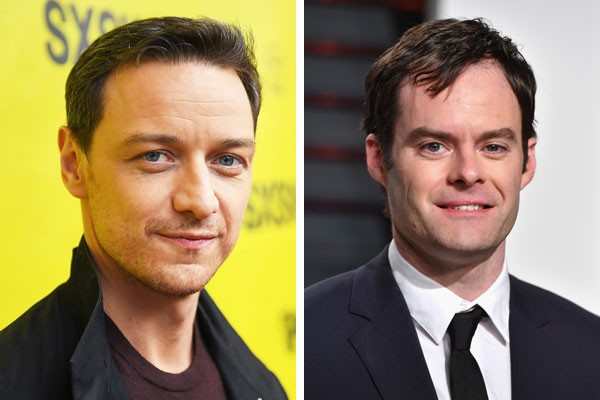 James McAvoy e Bill Hader  (Foto: Getty Images)