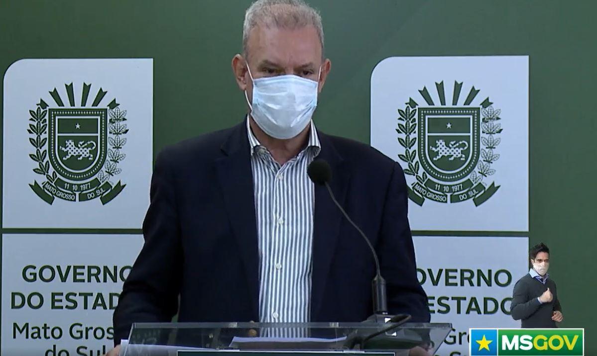 Secretário de Saúde de MS diz que aguarda prefeitura de Campo Grande para abertura de 30 novos leitos de UTI