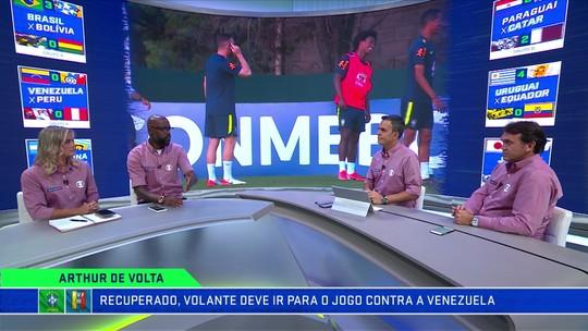 """Grafite destaca talento de Arthur e torce por volta à Seleção: """"Toque de qualidade"""""""
