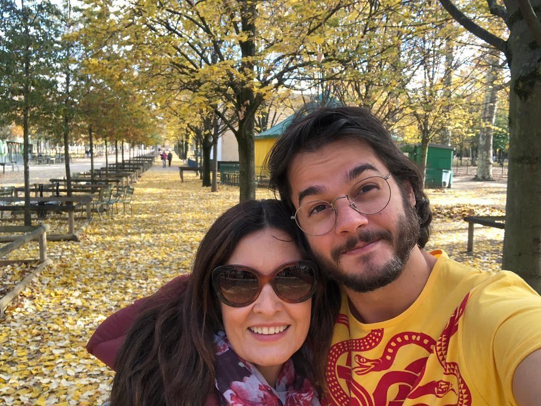 Tulio Gadelha e Fátima Bernardes (Foto: Reprodução Instagram)
