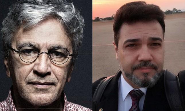 Caetano Veloso e Marco Feliciano