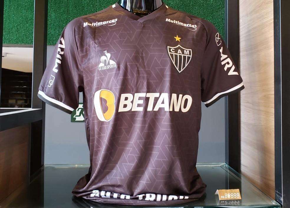 Atlético-MG apresenta terceiro uniforme — Foto: Fred Ribeiro