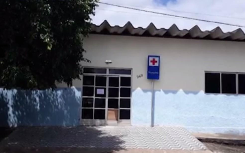 Hospital Maria Moreira Lisboa, em Itanhém — Foto: Reprodução/TV Santa Cruz