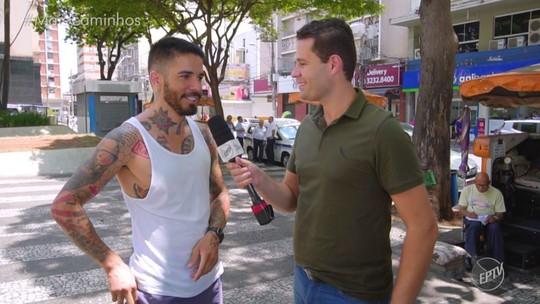 Pedro Leonardo conhece barbeiro que corta cabelo de moradores de rua