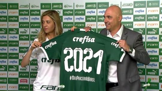 Palmeiras e Crefisa anunciam renovação que pode render R$ 410 milhões até 2021