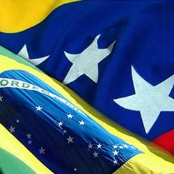Brasil e Venezuela (Foto: Arquivo Google)