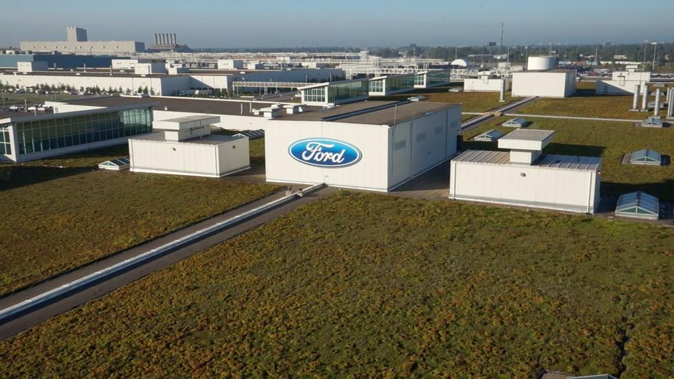 Sede da Ford em Dearborn, nas proximidades de Detroit, nos Estados Unidos (Foto: Divulgação)