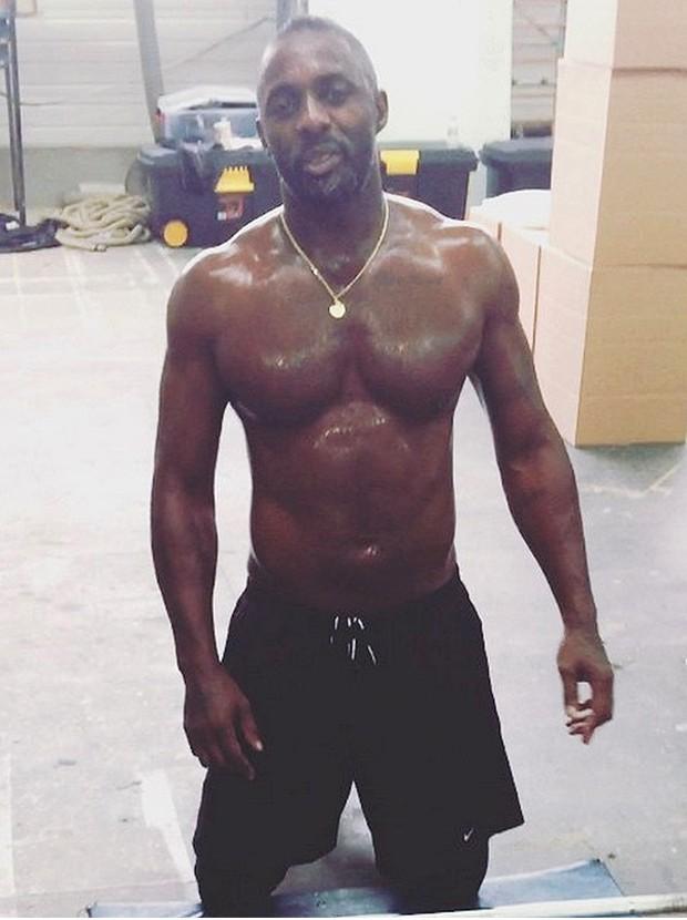 Idris Elba (Foto: Reprodução/Instagram)