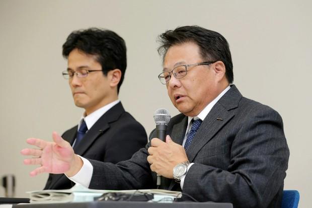 Seiji Honda Vice Presidente da Nissan (à direita) (Foto: Divulgação)