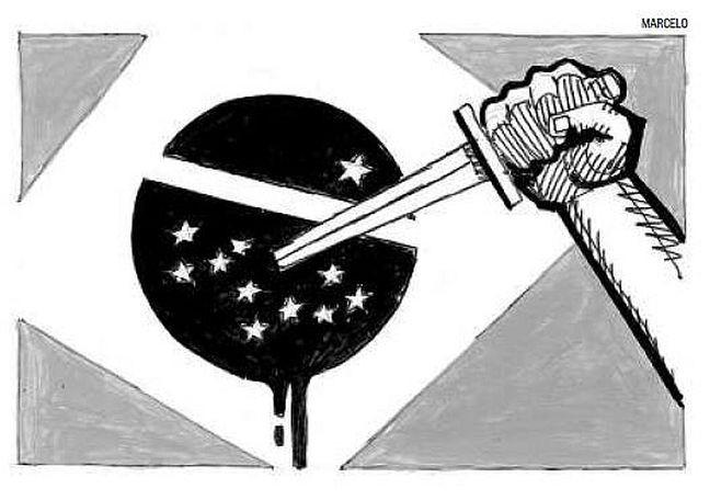 Crime e política (Foto: Arte: Marcelo / O Globo)