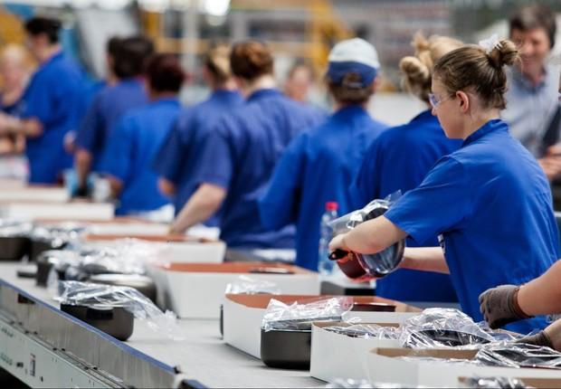 Produção industrial ; indústria ; PIB do Brasil ; crescimento econômico ; trabalhadores ; emprego ;  (Foto: Arquivo/Agência Brasil)