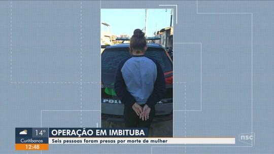 Sete são suspeitos de matar mulher em Imbituba a pedido de marido que não aceitava separação