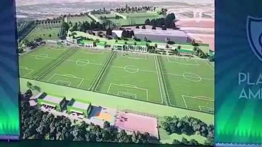 """""""Planeta América"""": clube apresenta projeto de ampliação do CT Lanna Drumond"""