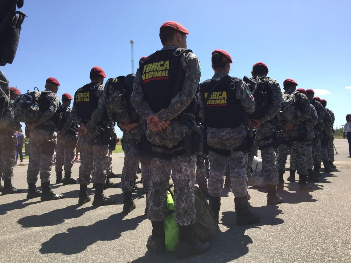 Força Nacional vigiava área de penitenciária por onde 80 presos fugiram em Roraima, diz Sejuc