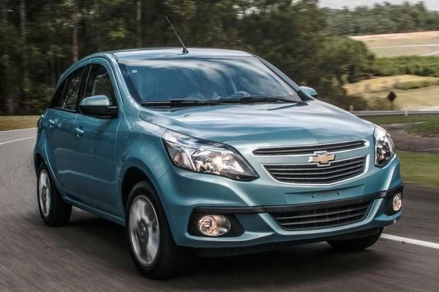Chevrolet Agile 2014 (Foto: Divulgação)