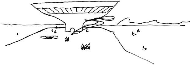 Exposição interativa sobre Niemeyer tem narração do próprio arquiteto (Foto: Divulgação)